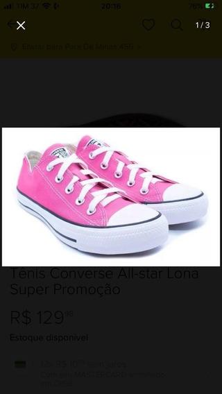 Tênis Converse All-star Feminino Lona Top!!!