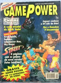 Revista Gamepower Nº16 1993 C/poster Street Fighter- Rara!