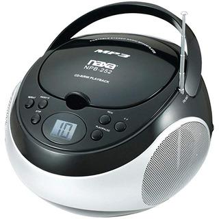 Naxa Electronics Mp3 Portátil/reproductor Cd + Radio Am/fm S