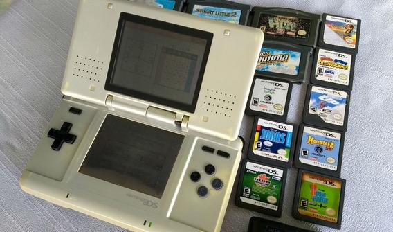 Nintendo Ds Con 16 Juegos