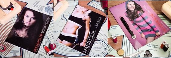 Kit Molde Esporte + Social + Malha + Lingerie - Maximolde
