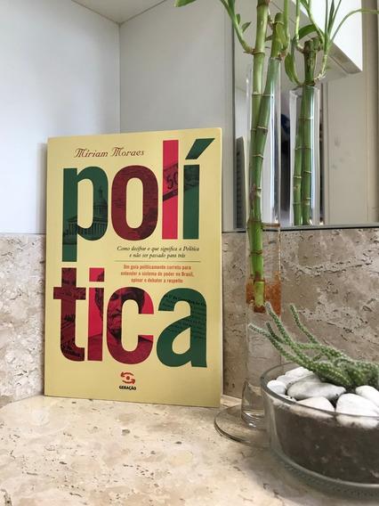 Livro Política De Miriam Moraes