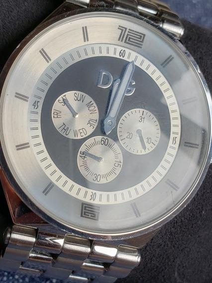 Relógio D&g Dw0584 *** Bom Estado *** Usado*** Não É Réplica