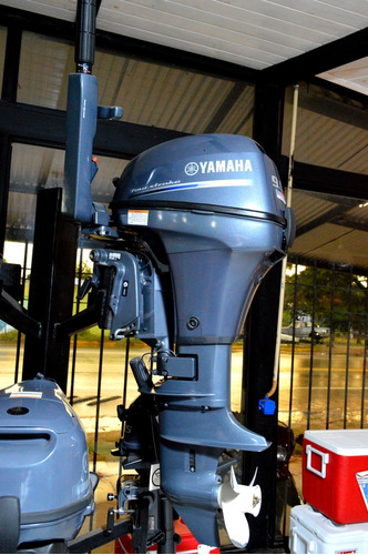 Imagen 1 de 3 de Motor Yamaha 9.9 4t Usado