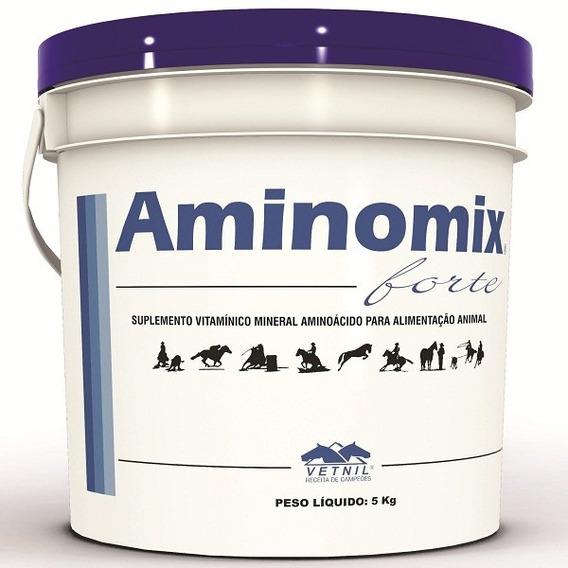 Aminomix Forte Vetnil 5 Kg Cavalos Éguas Potros Equinos