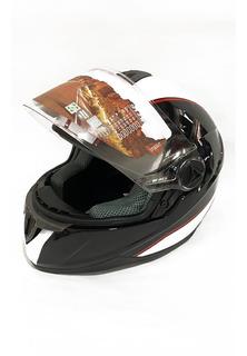 Casco Moto Ich Helmets Certificado Homologado M / L