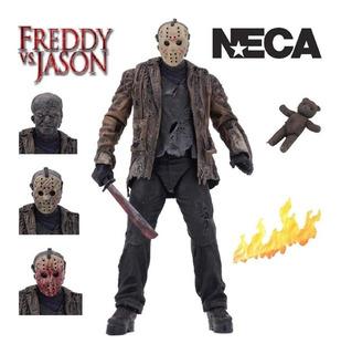 Freddy Vs Jason Ultimate Jason Neca Nuevo Cerrado Original
