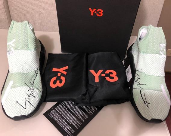 Tênis adidas Y-3 Yohji Yamamoto Reberu Boost Laceless Sneakers Tam 42- De R$1659 Por