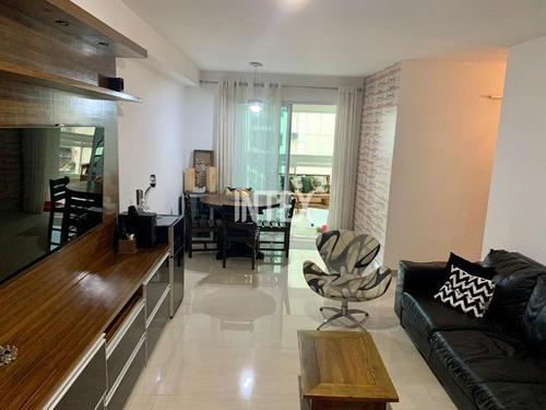 Apartamento Para Venda Com 3 Quartos Em 2 Vagas No Vital Brazil, Niterói-rj - Ap01317 - 69396109