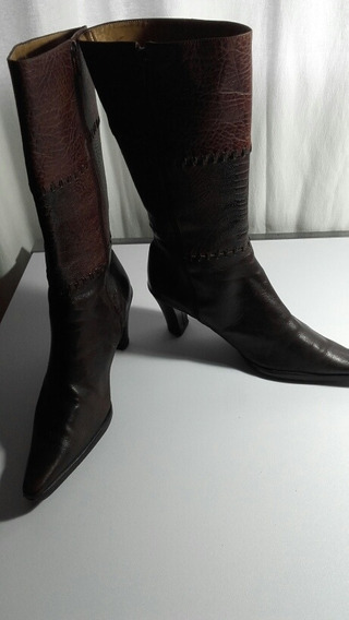 Botas Color Chocolate