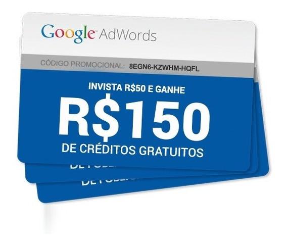 Cupom Google Adwords 50/150 De Bônus!