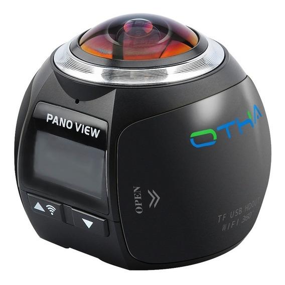 3d Camara Video 360 Wifi 4k Ultra Hd Resistente Agua Mini