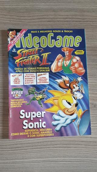 Revista Videogame 23 Street Fighter Super Sonic A296