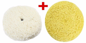 Kit Boinas Dupla Face Branca 3m + Boina Amarela 3m Original