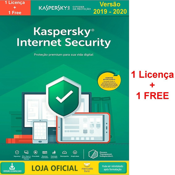 Kaspersky Internet Security - 1 Dispositivo 2019