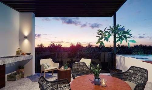 Tulum Quintana Roo- Exclusivo Studio Penthouse En Venta
