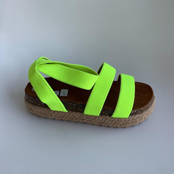 Sandalias Fosforecentes - Deboga Shoes
