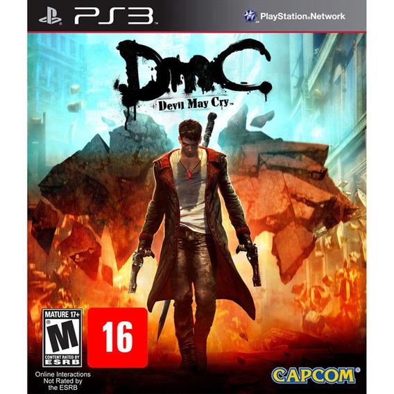 Dmc Devil May Cry Ps3 Semi-novo Em Perfeito Estado!