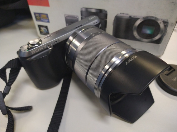 Câmera Sony Nex C3 + Bolsa Super Promoçao