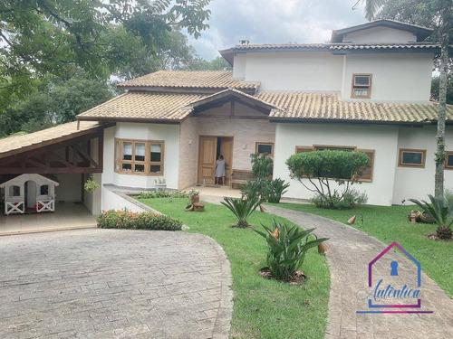 Casa Com 4 Dormitórios À Venda, 376 M² Por R$ 1.980.000,00 - Forest Hills - Jandira/sp - Ca1213