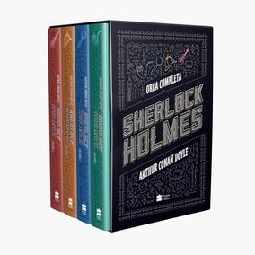 Box Livros Sherlock Holmes Obra Completa Arthur Conan Doyle