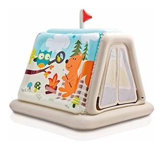 Casa De Juegos Infantil Inflable Mini Castillo Intex + Envio