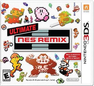 Ultimate Nes Remix - Nintendo 3ds Up Shop