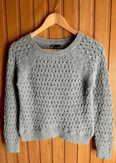 Sweater Gap Gris Talle Xl/ 12 Para Niñas