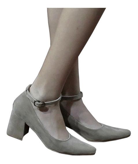 Zapatos Mujer Stilleto Taco Ancho Talles 35/44 Verano 2020