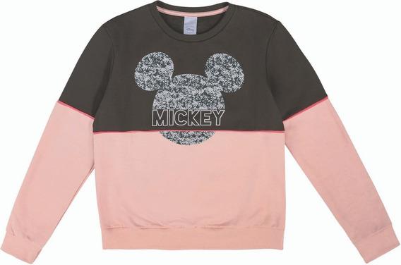 Blusao Disney Marrom