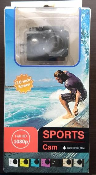 Sports Camera 2,0 Polegadas Dual Screen Dv Ação Waterproof