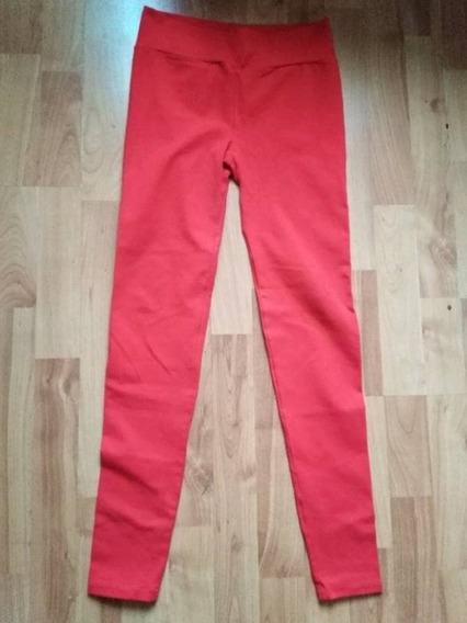 Leggings Rojos Skinny