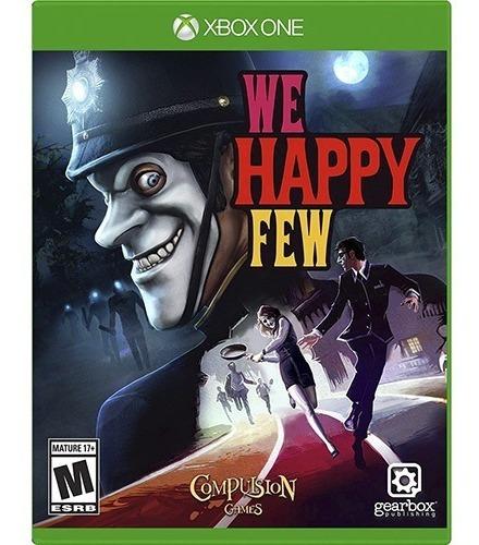 Game We Happy Few - Xbox One - Mídia Física - Nf