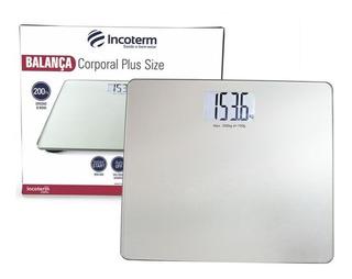 Balança Plus Size De Banheiro Digital Incoterm