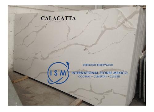 Imagen 1 de 5 de Cubiertas De Cuarzo Calacatta Para Cocinas Costo Por Cotizar