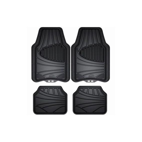 Armor All 78840zn 4 Piezas Negro All Season Rubber Floor Mat