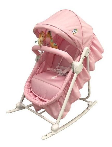 Berço Bebê Portátil Moisés Desmontável Baby Style Rosa !
