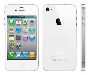 iPhone 4 Branco Original (tela Traseira Trincada)