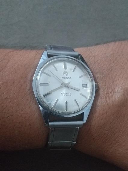 Relógio Tressa 17 Jewels Incabloc Automátic Funciona Perfeit