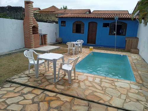 Excelente Oportunidade Em Itaipuaçu! Casa Com Piscina 2 Qts