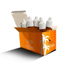 Kit Rb Kollors Summer 6 Pigmentos 5ml Cada + Brinde