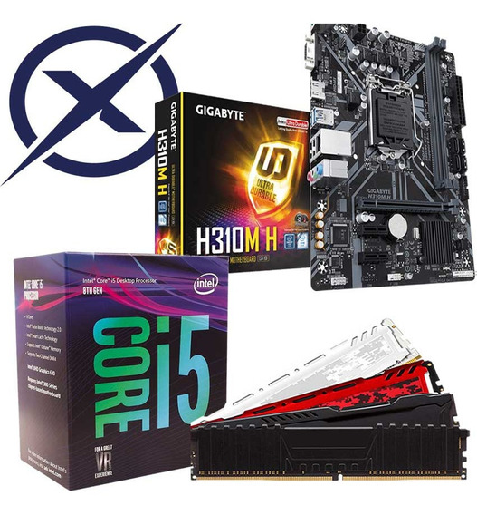 Kit Gamer I5 8400 + Placa Mãe H310m + 8gb Ddr4 Corsair
