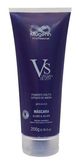 Máscara Vegana Mugenn Cosméticos Blond & Silver - 200g