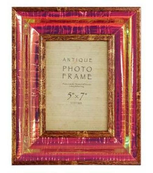Porta Retrato Dourado Brilho Claro 10x15 Goodsbr 26x21x4cm