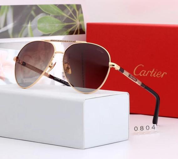 Óculos De Sol Cartier Aviador Promoção !