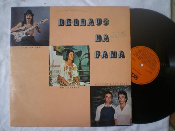 Lp - Degraus Da Fama -com Edival Rafael Jose Marcus / Mg /84