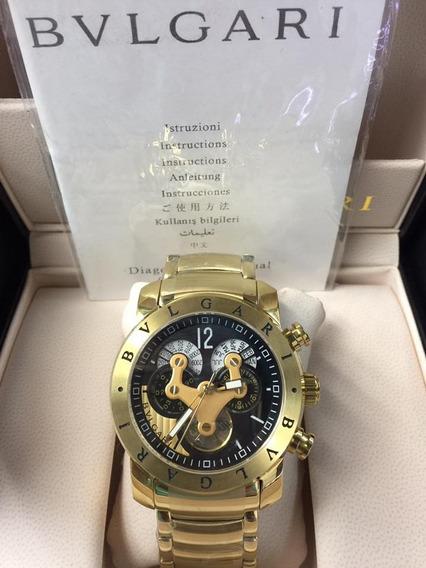 Relógio Df350 Preto Bv Série Automático Pendulo 3d Dourado