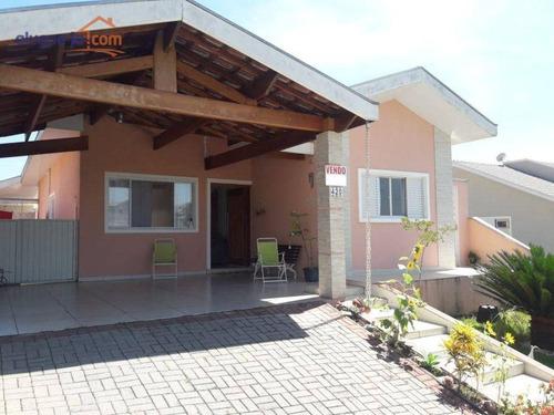 Imagem 1 de 6 de Casa Com 3 Dormitórios À Venda, 172 M² Por R$ 900.000,00 - Condomínio Residencial Mantiqueira - São José Dos Campos/sp - Ca3850
