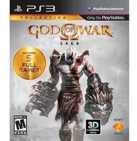 God Of War Saga Ps3 Mídia Física Lacrado