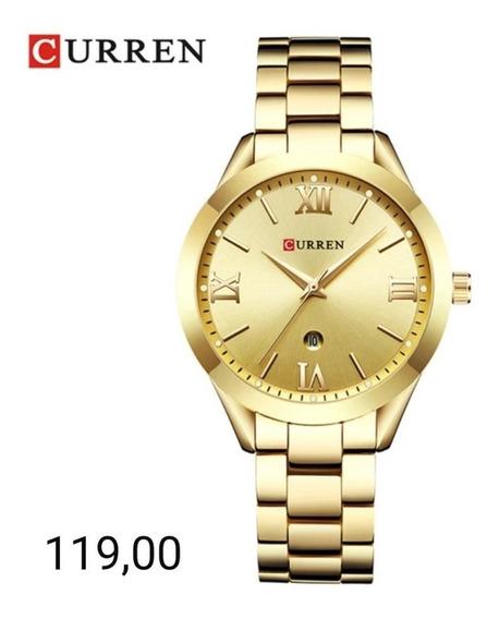 Relógio Curren Feminino Original Com Estojo